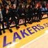 Gianna Bryant Photos - Members of Gigi Bryant's Mamba Sports Academy team sit courtside before the game between the Los Angeles Lakers and the Portland Trail Blazers at Staples Center on January 31, 2020 in Los Angeles, California. - Portland Trail Blazers v Los Angeles Lakers