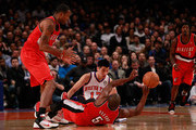 Raymond Felton and Jeremy Lin Photos Photo