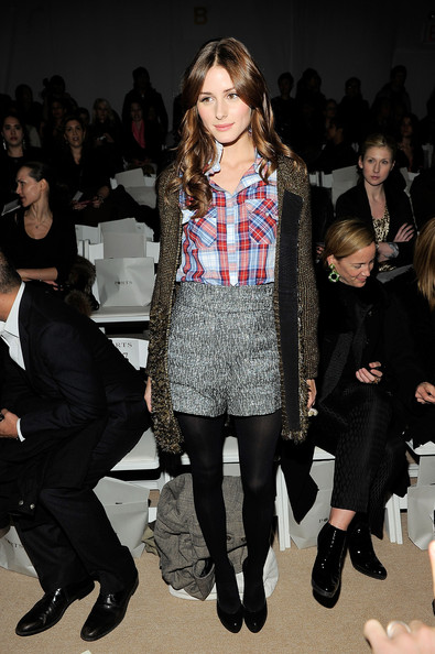 Olivia Palermo TV personality Olivia Palermo attends the Ports 1961 Fall 2010 Fashion Show during Mercedes-Benz Fashion Week at The Promenade at Bryant Park on February 11, 2010 in New York City.
