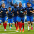 Patrice Evra Photos - Patrice Evra of France leads his side in the warm up prior to the UEFA EURO 2016 Final match between Portugal and France at Stade de France on July 10, 2016 in Paris, France. - Portugal v France - Final: UEFA Euro 2016