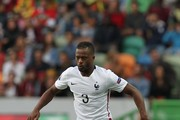 France's defender Patrice Evra during the Friendly match between Portugal and France on September 04, 2015 in Lisbon, Portugal.