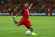 Ricardo Quaresma of Portugal in action during the UEFA EURO 2016 Group F match between Portugal and Iceland at Stade Geoffroy-Guichard on June 14, 2016 in Saint-Etienne, France.