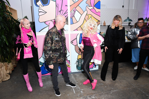 PUMA And Barbie Come Together For Art Inspired Launch Event For Their Suede 50th Collaboration