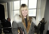 Amy Astley attends the Prabal Gurung fall 2012 fashion show during Mercedes-Benz Fashion Week at IAC Building on February 11, 2012 in New York City.