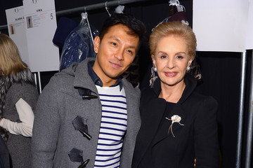 Prabal Gurung Backstage at the Carolina Herrera Show
