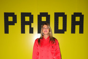 Anna Dello Russo attends the Prada Show during Milan Fashion Week Fall/Winter 2019/20 on February 21, 2019 in Milan, Italy.