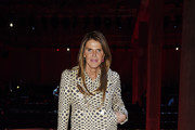 Anna Dello Russo attends the Prada show during Milan Fashion Week Fall/Winter 2020/2021 on February 20, 2020 in Milan, Italy.