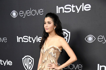 Praya Lundberg Warner Bros. Pictures and InStyle Host 18th Annual Post-Golden Globes Party - Arrivals