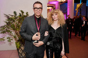 Fred Armisen (L) and Natasha Lyonne attend the Pre-GRAMMY Gala and GRAMMY Salute to Industry Icons Honoring Clarence Avant at The Beverly Hilton Hotel on February 9, 2019 in Beverly Hills, California.