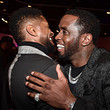 Usher and Sean Combs