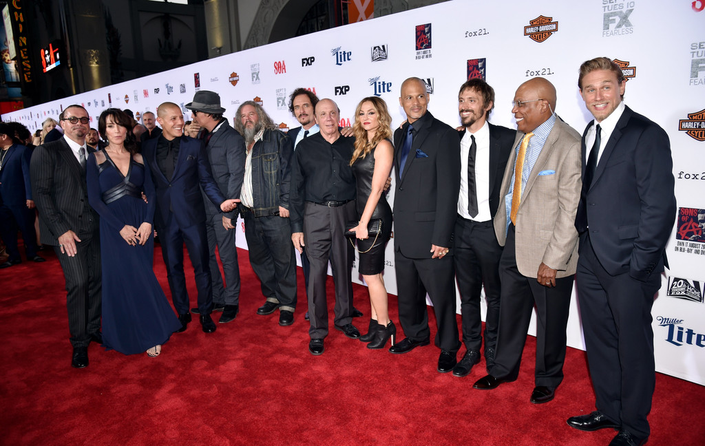 meet cast of sons anarchy 2013 premiere