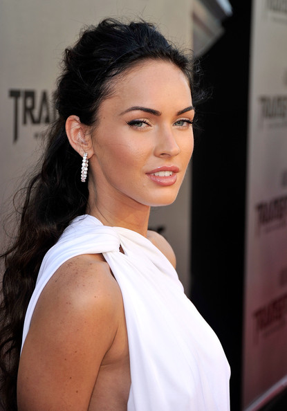 megan fox transformers 2 white dress scene. Actress Megan Fox arrives at