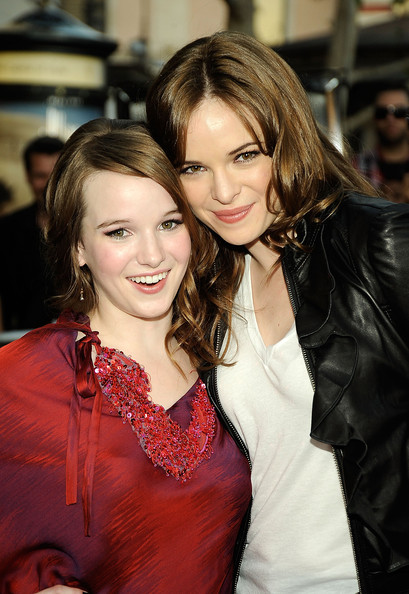 Danielle Panabaker and sister