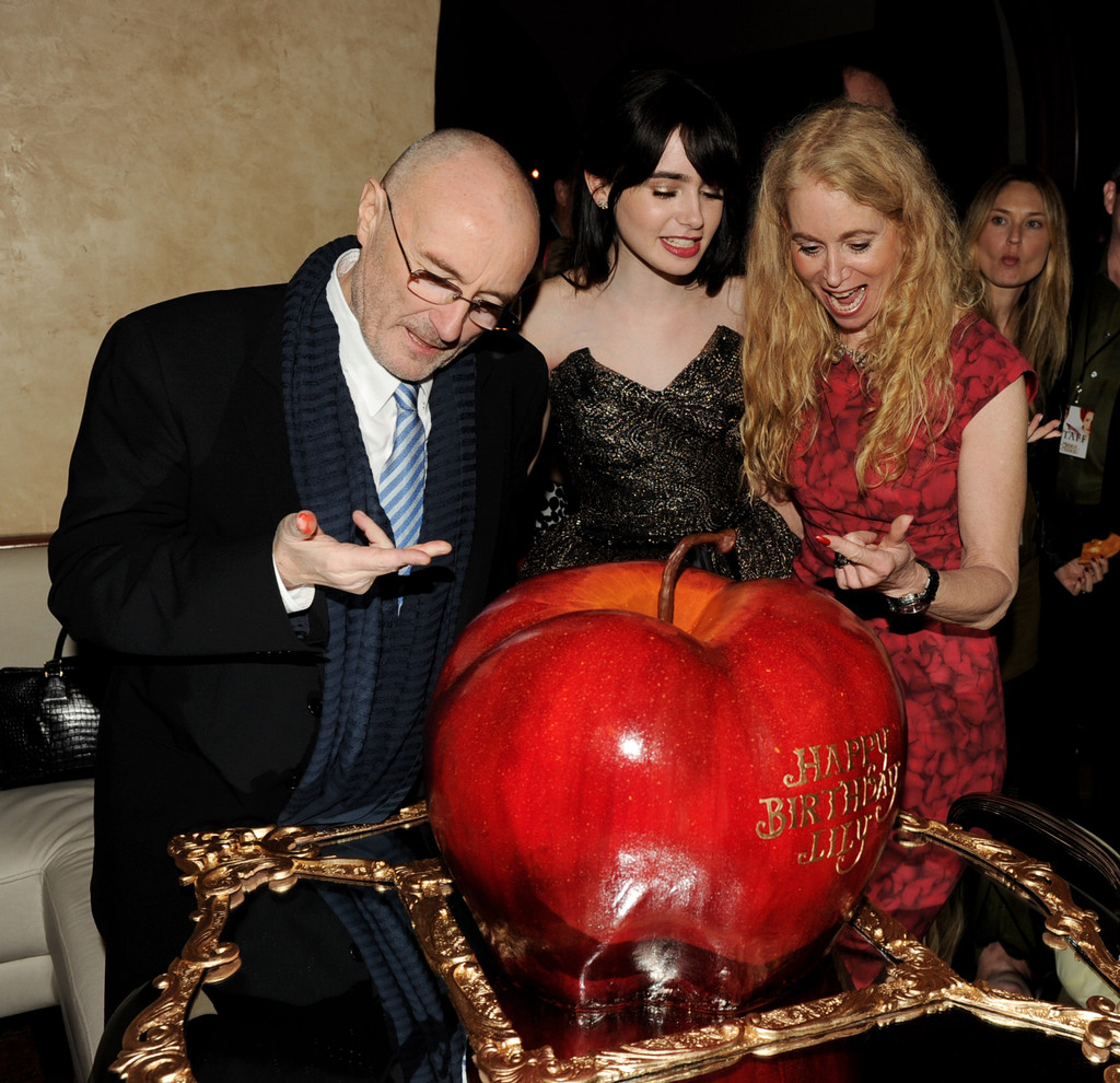 Phil Collins and Lily Collins Photos Photos Zimbio