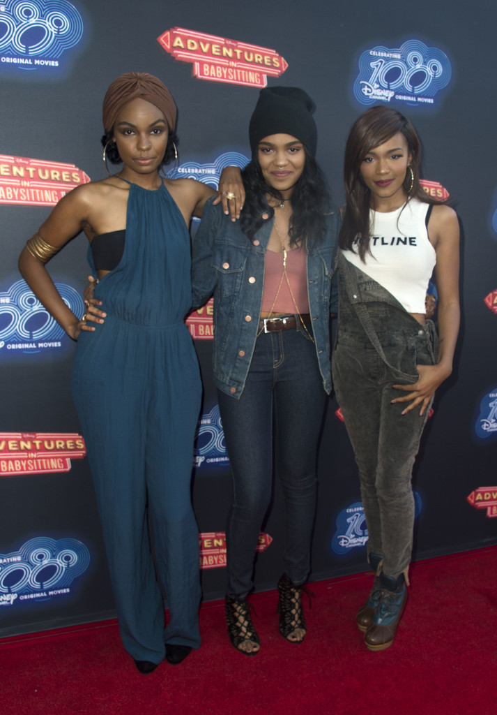 China Anne Mcclain Photos Premiere Of 100th Disney