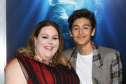 """Chrissy Metz and Marcel Ruiz attend the premiere of 20th Century Fox's """"Breakthrough"""" at Westwood Regency Theater on April 11, 2019 in Los Angeles, California."""