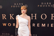 "Jessica Chastain attends the premiere of 20th Century Fox's ""Dark Phoenix"" at TCL Chinese Theatre on June 04, 2019 in Hollywood, California."