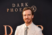 "Michael Fassbender attends the premiere of 20th Century Fox's ""Dark Phoenix"" at TCL Chinese Theatre on June 04, 2019 in Hollywood, California."