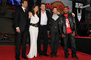 "(L-R) Actors Bradley Cooper, Jessica Biel, Liam Neeson, Sharlto Copley, and Quinton 'Rampage' Jackson arrive at the premiere of 20th Century Fox's ""The A-Team"" held at Grauman's Chinese Theatre on June 3, 2010 in Los Angeles, California."