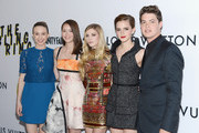 Actors Taissa Farmiga, Katie Chang, Claire Julien, Emma Watson and Israel Broussard attend the premiere of A24's 'The Bling Ring' at the Directors Guild Of America on June 4, 2013 in Los Angeles, California.