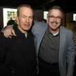 Bob Odenkirk and Vince Gilligan