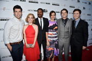 Nate Parker and Aubrey Plaza Photos Photo