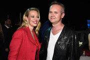 """Actress Jeri Ryan and Amazon Studios Head Roy Price attend the """"Bosch"""" Season 2 after party at The Sunset Tower Hotel on March 3, 2016 in West Hollywood, California."""