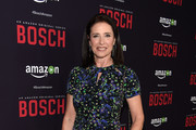 """Actress Mimi Rogers arrrives at the Premiere Of Amazon's """"Bosch"""" Season 2 at SilverScreen Theater at the Pacific Design Center on March 3, 2016 in West Hollywood, California."""