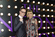 Director Nicolas Winding Refn (L) and actress Liv Corfixen attend the Neon Demon Premiere, in Hollywood, California, on June 14, 2016. / AFP / VALERIE MACON
