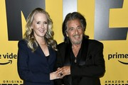 """(L-R) Head of Amazon Studios Jennifer Salke and Al Pacino attend the premiere of Amazon Prime Video's """"Hunters"""" at DGA Theater on February 19, 2020 in Los Angeles, California."""