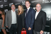 "(L-R) Amazon Studios Film Division Co-Head Ted Hope, Amazon Studios Head Jennifer Salke, Amazon Studios Film Division Co-Head Matt Newman, Amazon Studios Head of Marketing & Distribution Bob Berney attend the premiere of Amazon Studios' ""Life Itself"" at ArcLight Cinerama Dome on September 13, 2018 in Hollywood, California."
