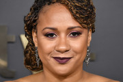 "Tracie Thoms attends the Premiere of Apple TV+'s ""Truth Be Told"" at AMPAS Samuel Goldwyn Theater on November 11, 2019 in Beverly Hills, California."