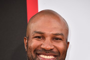 """Derek Fisher attends the premiere of Columbia Pictures' """"Equalizer 2"""" at the TCL Chinese Theatre on July 17, 2018 in Hollywood, California."""