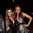 She sparkles with Kate Walsh.