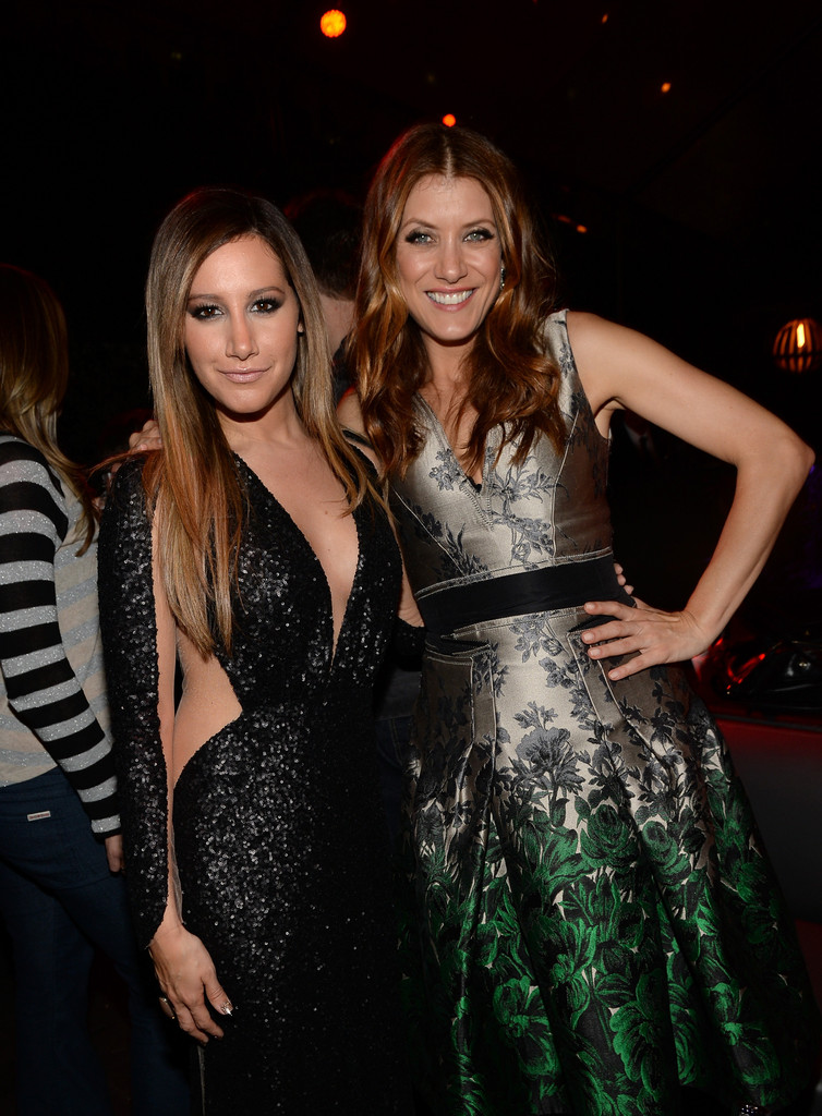 She Sparkles With Kate Walsh Ashley Tisdale S Celebrity Friends Zimbio