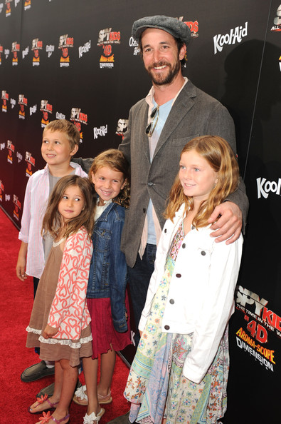 "Actor Noah Wyle and guests arrive at ""Spy Kids: All The Time In The World 4D"" Los Angeles premiere at the Regal Cinemas L.A. Live on July 31, 2011 in Los Angeles, California."