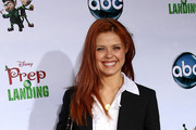 "Actress Anna Trebunskaya attends the ""Prep & Landing"" film premiere at The El Capitan Theatre on November 16, 2009 in Hollywood, California."