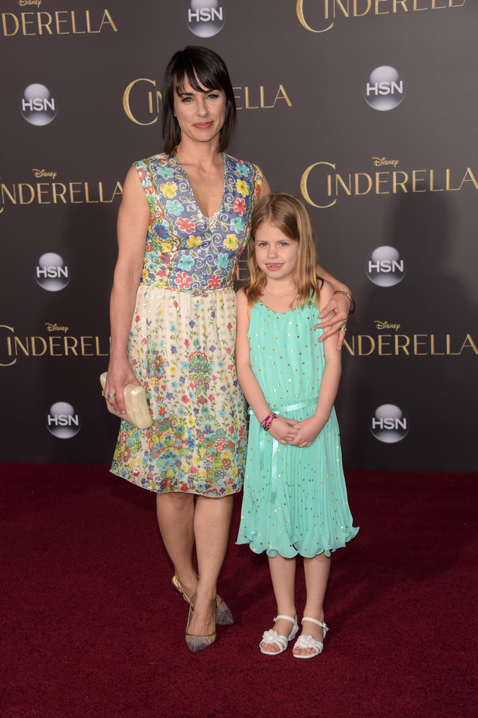Constance Zimmer and daughter