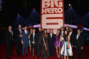 "Cast and crew attend the premiere of Disney's ""Big Hero 6"" at the El Capitan Theatre on November 4, 2014 in Hollywood, California."