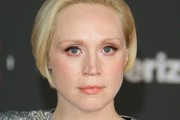 """Actress Gwendoline Christie arrives for the premiere of Disney Pictures and Lucasfilm's """"Star Wars: The Last Jedi"""" at The Shrine Auditorium, in Los Angeles on December 9, 2017. / AFP PHOTO / JEAN-BAPTISTE LACROIX"""