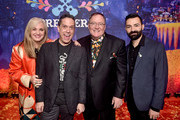 "(L-R) Producer Darla K. Anderson, Director Lee Unkrich, Executive Producer John Lasseter, and Co-director/Screenwriter Adrian Molina at the U.S. Premiere of Disney-Pixar's ""Coco"" at the El Capitan Theatre on November 8, 2017, in Hollywood, California."
