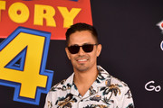 """Jay Hernandez attends the premiere of Disney and Pixar's """"Toy Story 4"""" on June 11, 2019 in Los Angeles, California."""