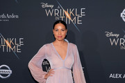 "Jurnee Smollett-Bell attends the premiere of Disney's ""A Wrinkle In Time"" at the El Capitan Theatre on February 26, 2018 in Los Angeles, California."