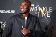 "Kobe Bryant attends the premiere of Disney's ""A Wrinkle In Time"" at the El Capitan Theatre on February 26, 2018 in Los Angeles, California."