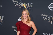 "Reese Witherspoon attends the premiere of Disney's ""A Wrinkle In Time"" at the El Capitan Theatre on February 26, 2018 in Los Angeles, California."