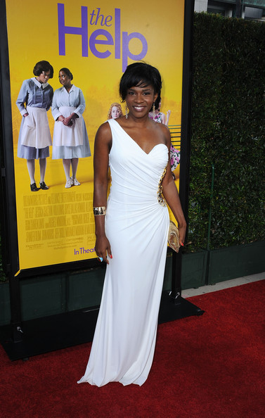 Actress Edwina Findley attends the premiere Of DreamWorks Pictures' 'The Help' held at The Academy of Motion Picture Arts and Sciences, Samuel Goldwyn Theater on August 9, 2011 in Beverly Hills, California.