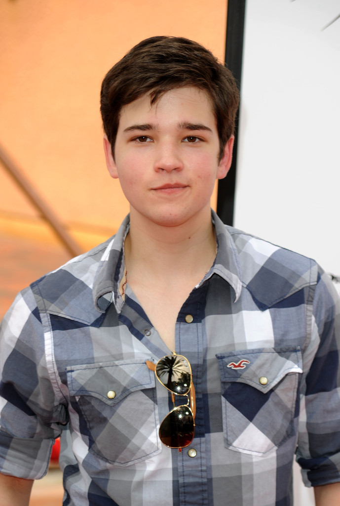 nathan kress photos photos premiere of dreamworks. Black Bedroom Furniture Sets. Home Design Ideas