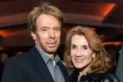 Jerry Bruckheimer and Linda Bruckheimer attend the after party for the premiere of Entertainment Studios Motion Pictures' 'Hostiles' on December 14, 2017 in Beverly Hills, California.
