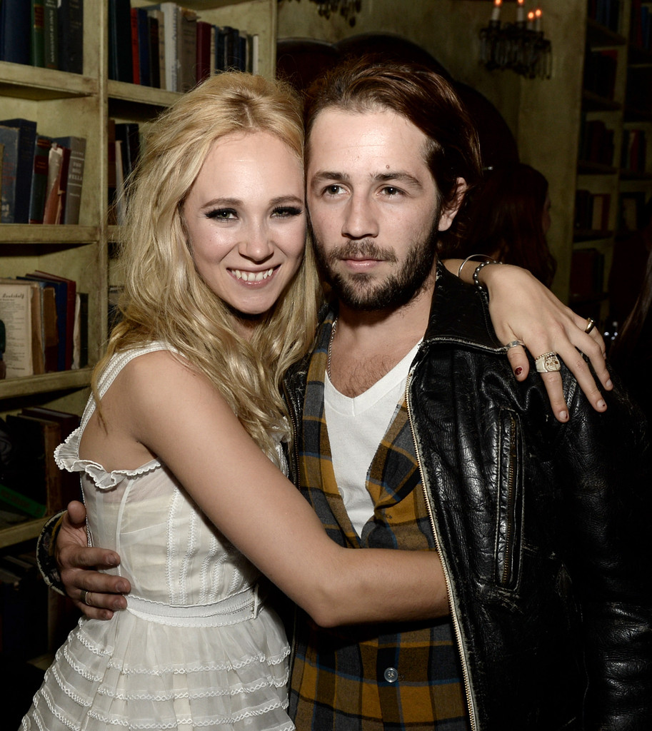Michael Angarano and ex-girlfriend Juno Temple