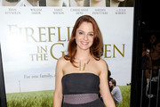 """Actress Shannon Lucio arrives at the pemiere of """"Fireflies In The Garden"""" at the Pacific Theaters at the Grove on October 12, 2011 in Los Angeles, California."""